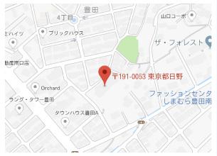豊田保育園周辺地図